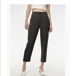 Wilfred Wool Chambery Dark Grey Cropped Pants